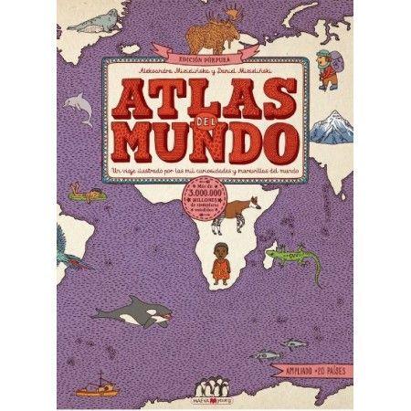 ATLAS DEL MUNDO EDICIÓN PÚRPURA (MAEVA)