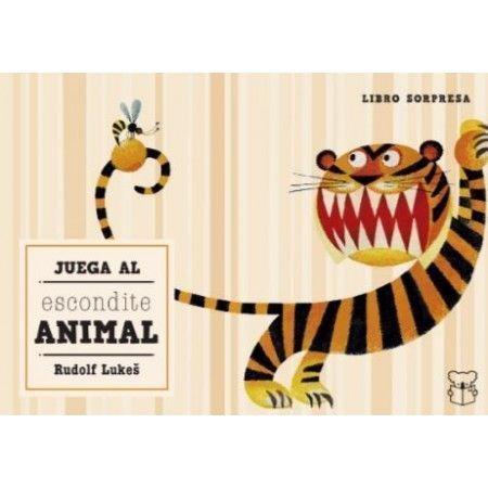 JUEGA AL ESCONDITE ANIMAL. Libro sorpresa