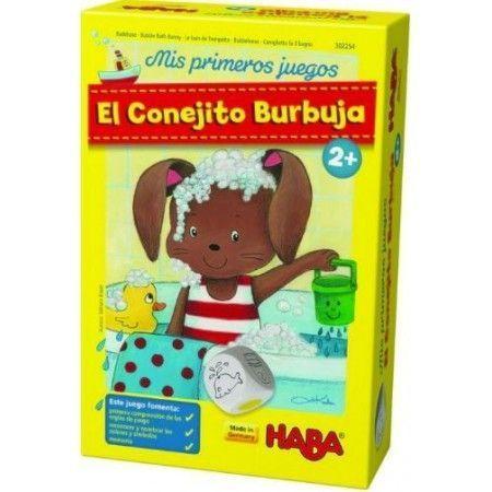 EL CONEJITO BURBUJA. Mis primeros juegos Haba