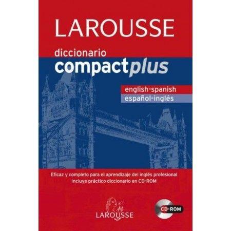 DICCIONARIO COMPACT PLUS+CD-ROM ESP/ING-ING/ESP LAROUSSE