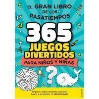 EL GRAN LIBRO DE LOS PASATIEMPOS