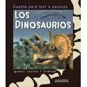 Los dinosaurios. Cuento para leer a oscuras