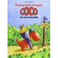 El pequeño dragón Coco va a la escuela