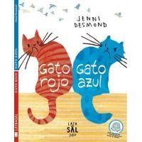 Gato rojo, gato azul