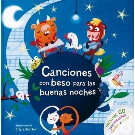 Canciones con beso para las buenas noches (+CD)