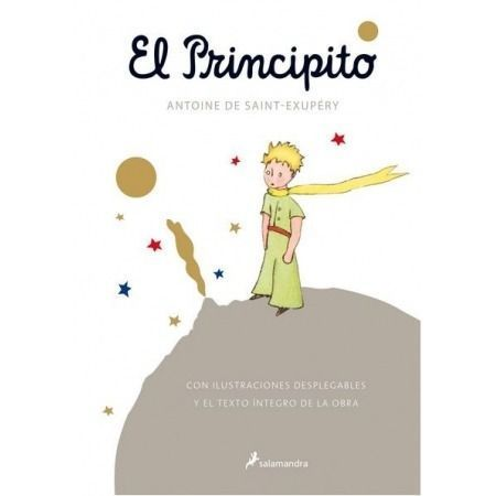El Principito (desplegable pop up)