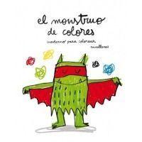 El monstruo de colores (cuaderno para colorear)