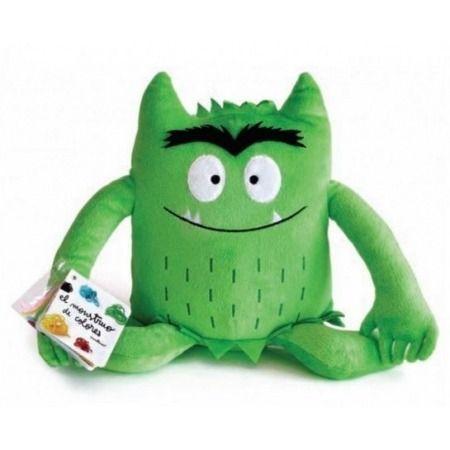 Monstruo de colores (peluche verde)