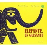 Elefante, un guisante