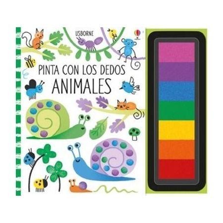 Animales - Pinta con los dedos