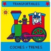 Coches y trenes. Libro de tela