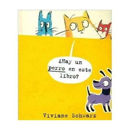 ¿Hay un perro en este libro?