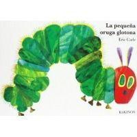 La pequeña oruga glotona (hojas de cartón)