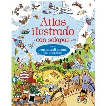 Atlas ilustrado (con solapas)