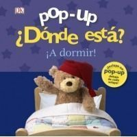 ¿Dónde está? ¡A dormir! Pop up