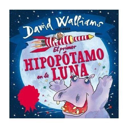 El primer hipopótamo en la luna