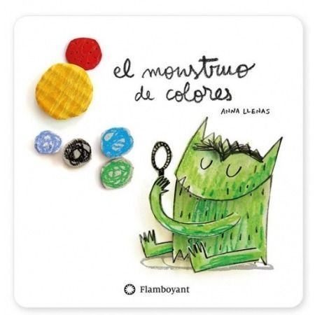 El monstruo de colores (en cartoné)