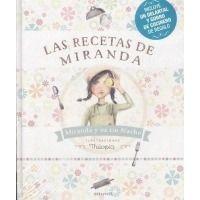 Pack Las recetas de Miranda (libro + delantal + gorro)