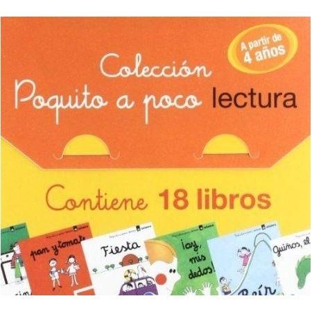 Maletín Colección Poquito a Poco (con 18 cuentos)
