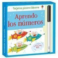 Aprendo los números (tarjetas pizarra)