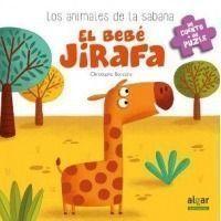 El bebé jirafa