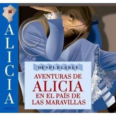 Aventuras de Alicia en el país de las maravillas (Desplegable)