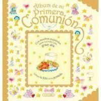 Álbum de Mi Primera Comunión-oro