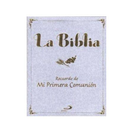 La Biblia: Recuerdo de mi primera comunión