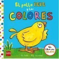 El pollo Pepe y los colores