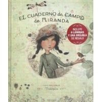 Cuaderno de campo de Miranda. Pack regalo 6 láminas + brújula