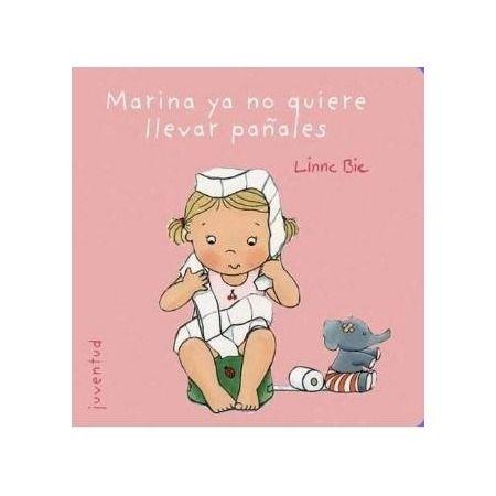 Marina ya no quiere llevar pañales