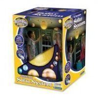 Sistema solar con luz radio control