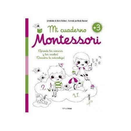 Mi cuaderno Montessori 3 años