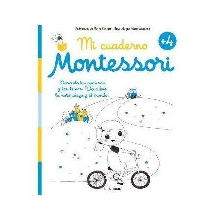 Mi cuaderno Montessori 4 años
