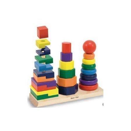 Apilable formas geométricas colores