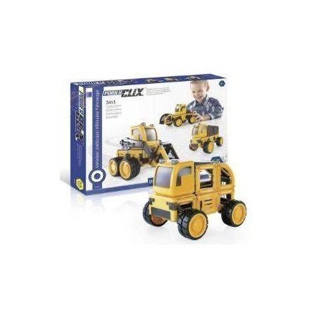 Construcción Power Clix vehículos (55 piezas)