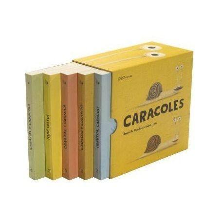 ESTUCHE CARACOLES NANOQOS (5 TITULOS)