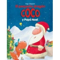 El pequeño dragón Coco y Papá Noel