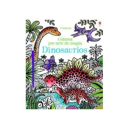 Dinosaurios. Colorea por arte de magia