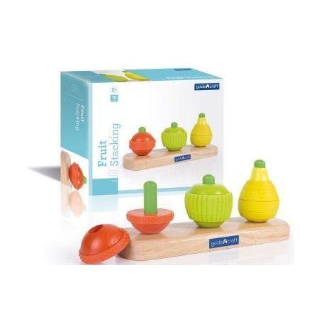 Apilable frutas madera