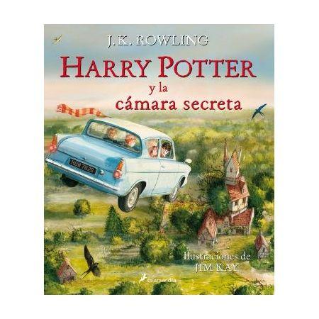 Harry Potter y la cámara secreta. Ilustrado