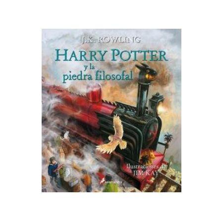 Harry Potter y la piedra filosofal. Ilustrado