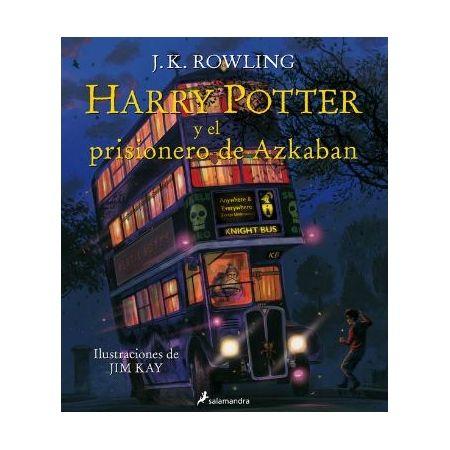 Harry Potter y el prisionero de Azkaban. Ilustrado