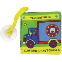 Camiones y autobuses (libro de tela)