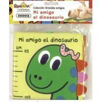 Mi amigo dinosaurio (libro de tela)