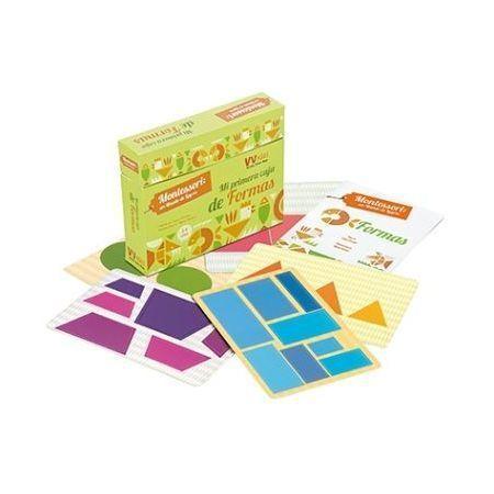 Mi primera caja de formas (Montessori)