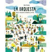 La orquesta. Busca y encuentra alrededor del mundo