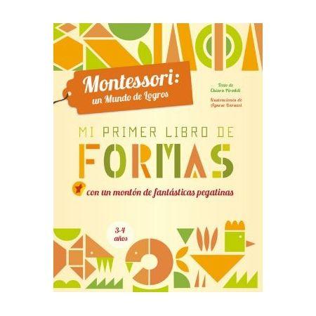 Mi primer libro de formas (Método Montessori)