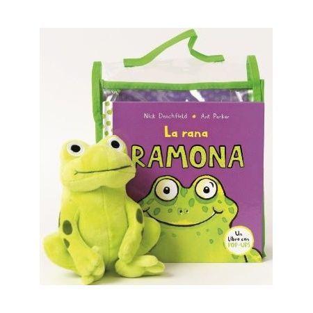 Pack La Rana Ramona (con peluche)