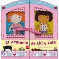 El armario de Lili y Lola. Libro magnético